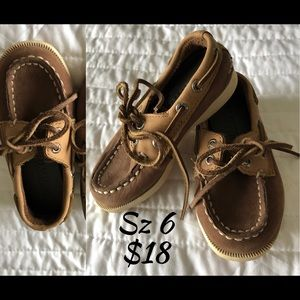 Sperry Shoes - Toddler size 6 top slider Sperrys